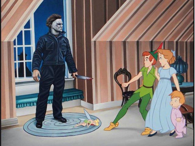 Peter Pan y Halloween.
