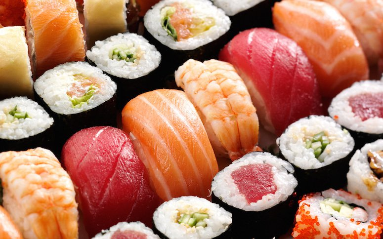 Obsesión por el sushi.
