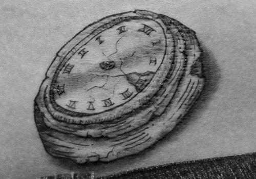 Reloj sin manecillas.