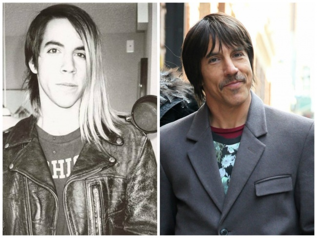 Anthony Kiedis de Red Hot Chili Peppers