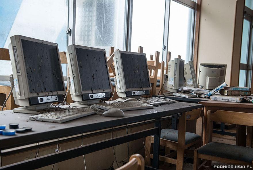Laboratorio abandonado.