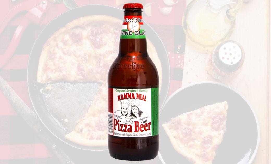 Cerveza de pizza.