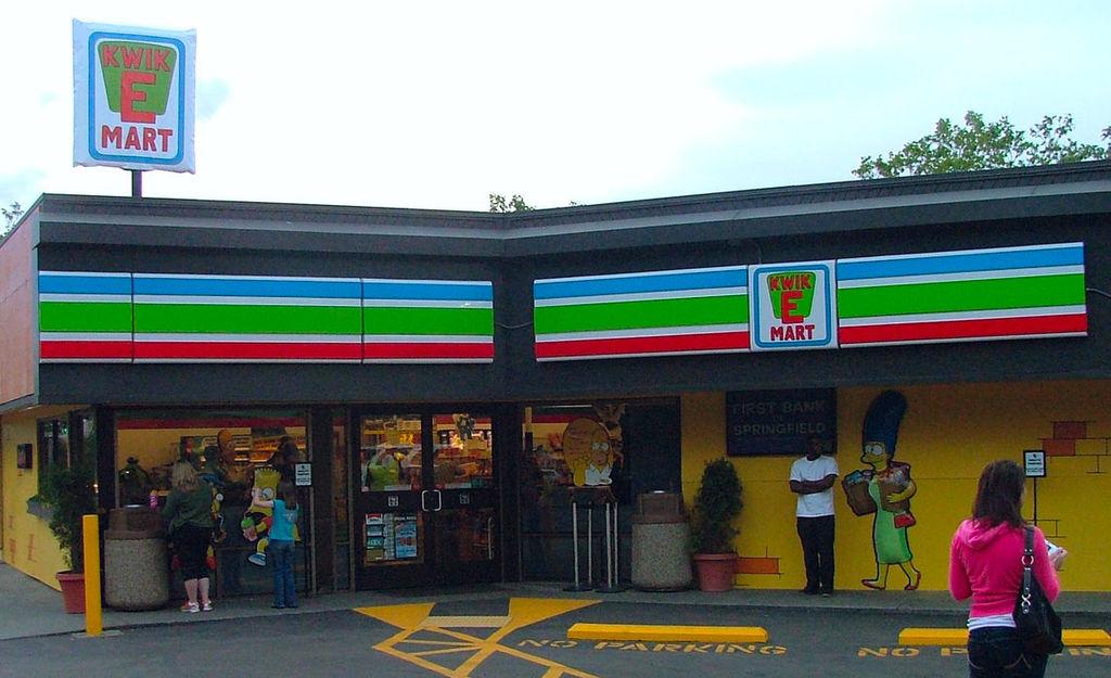 Kwik - E - Mart.