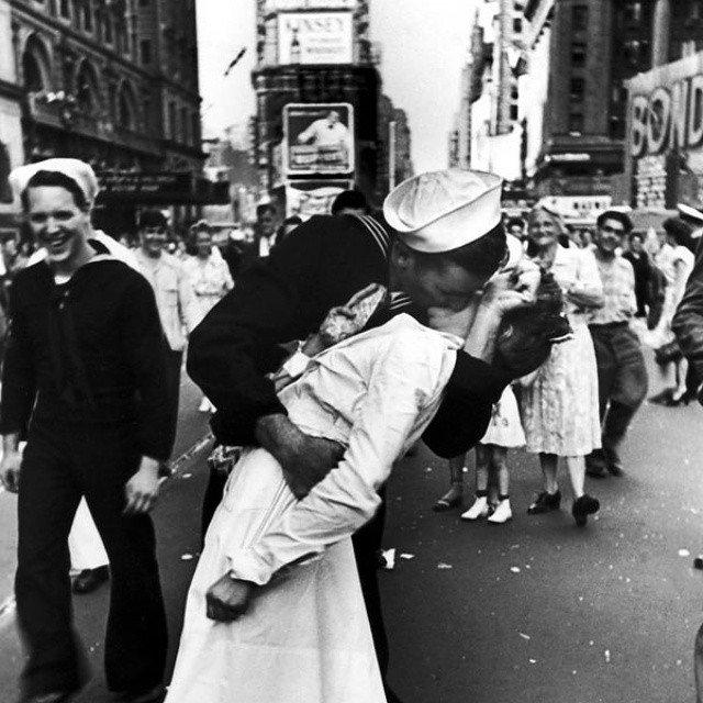 El beso de Times Square.