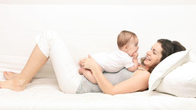 ejercicios bebe mama