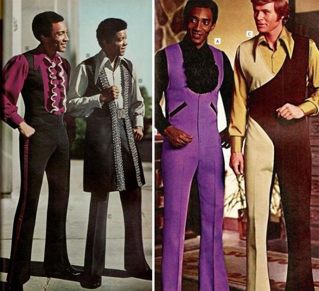 Jumpers para hombres con colores brillantes.