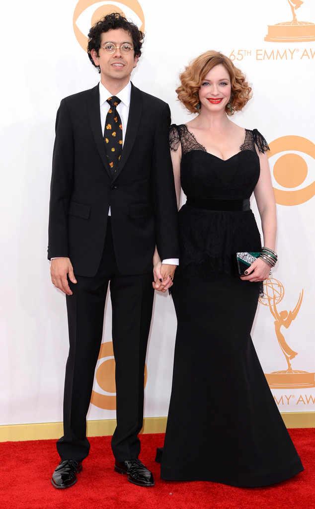 Christina Hendricks y Geoffrey Arend.