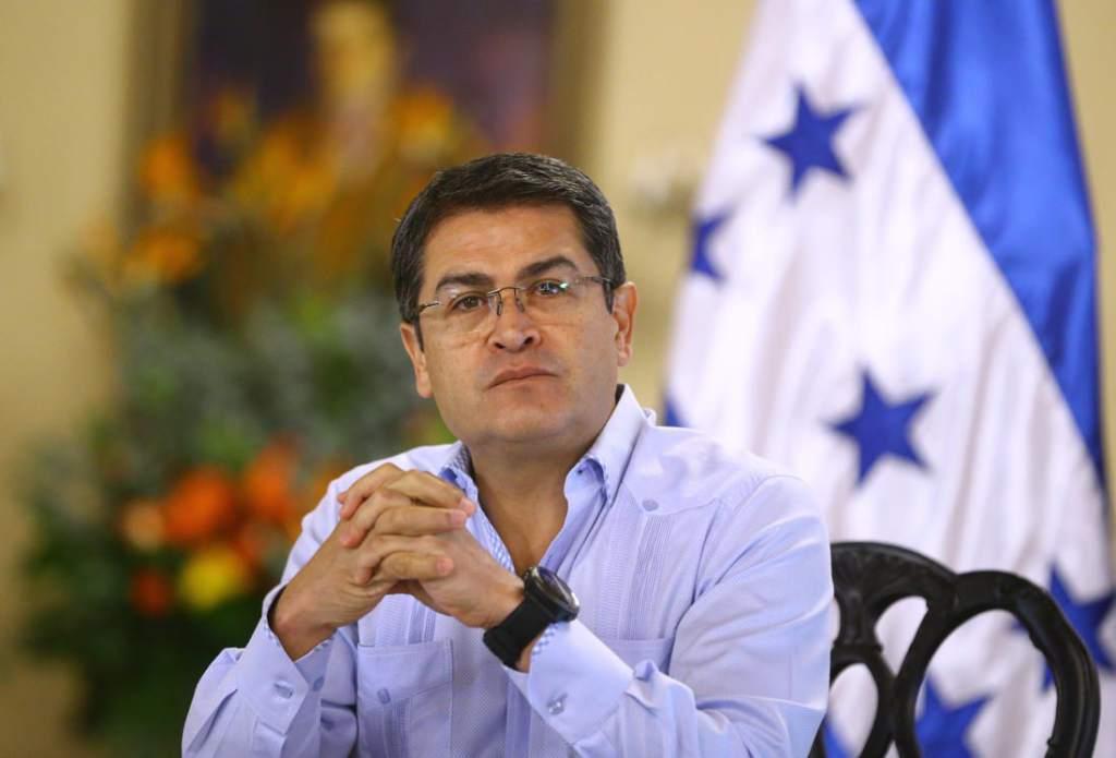 Juan Orlando Hernández Alvarado.