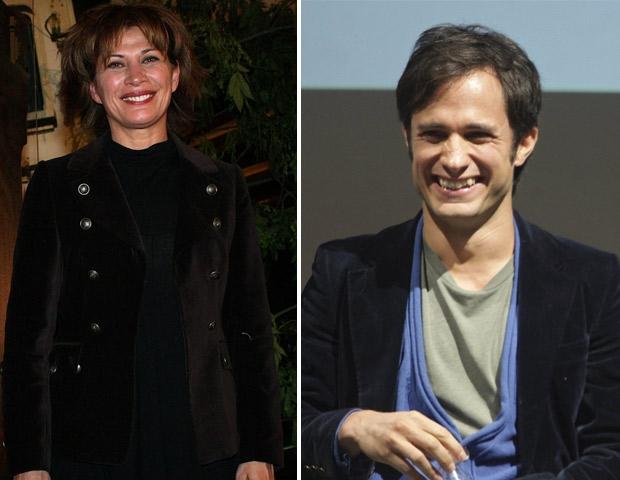 Gael García y Patricia Bernal.