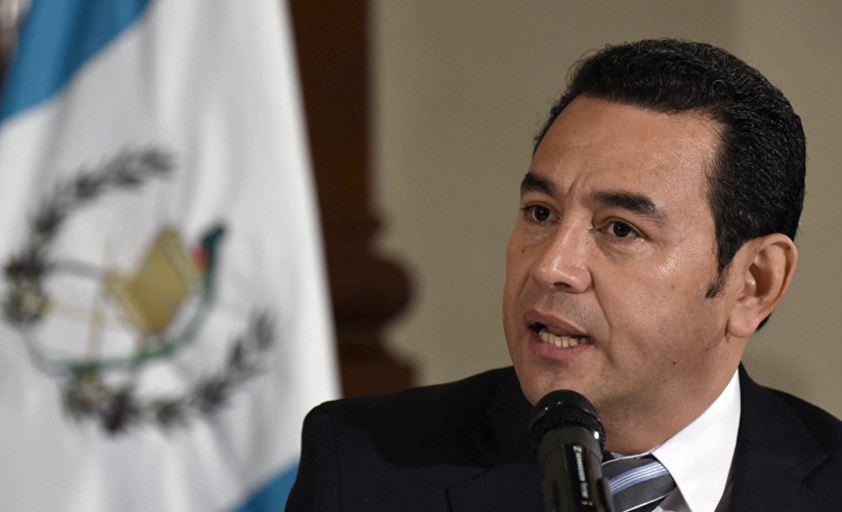 Jimmy Morales Cabrera.