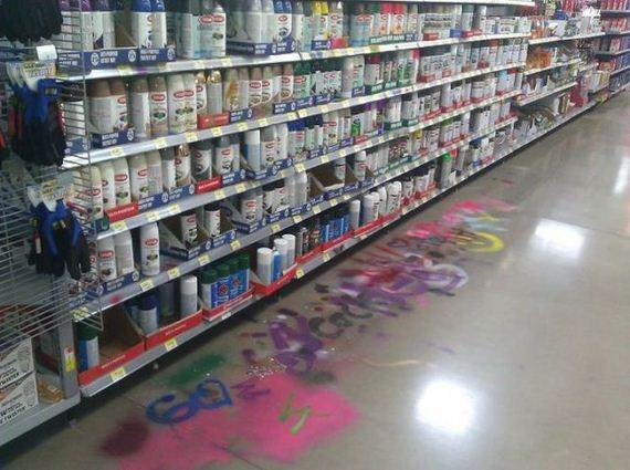 Vandalismo.