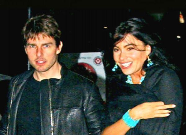Tom Cruise y Sofía Vergara.