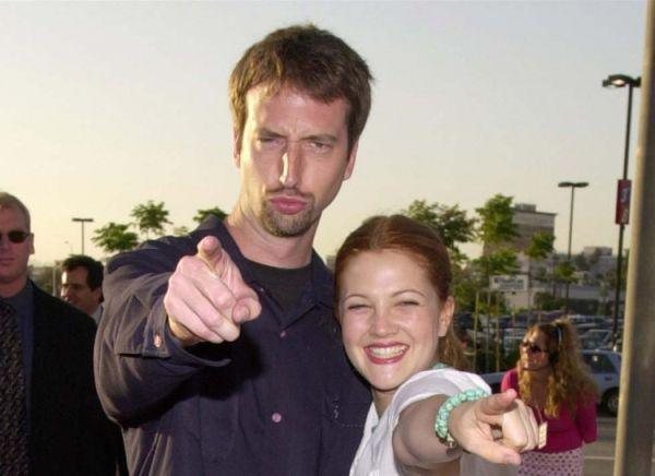 Drew Barrymore y Tom Green.