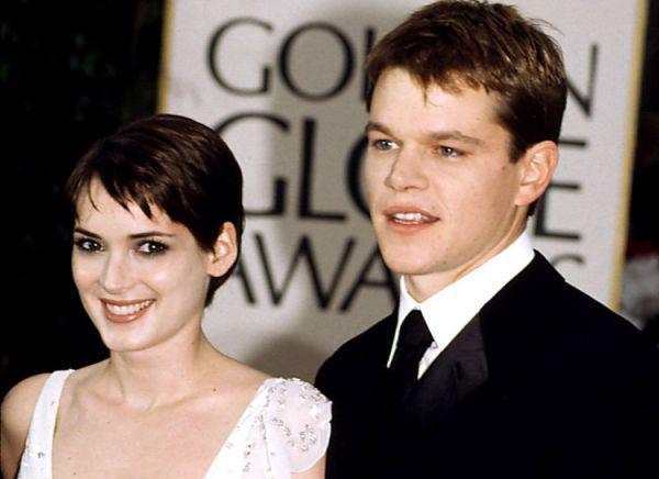 Matt Damon y Winona Ryder.