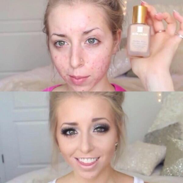 El poder del maquillaje.