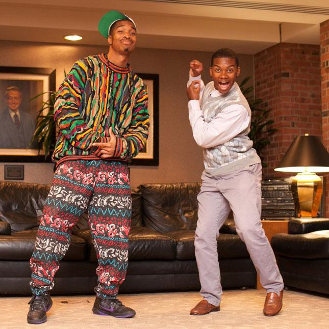 El príncipe del rap y Carlton