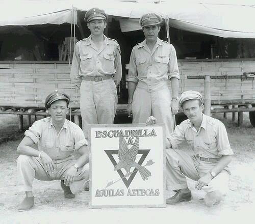 Águilas aztecas el heroico escuadrón 201 tuul
