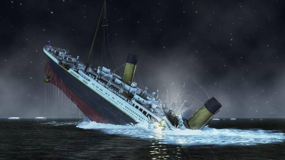 Titanic barco iceberg bandeja//forma de elefante
