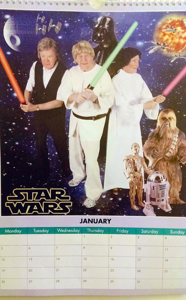 """Enero de """"Star Wars"""""""