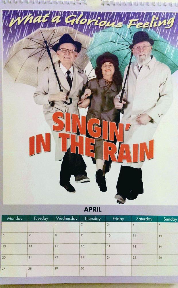 "Abril de ""Cantando bajo la lluvia"""