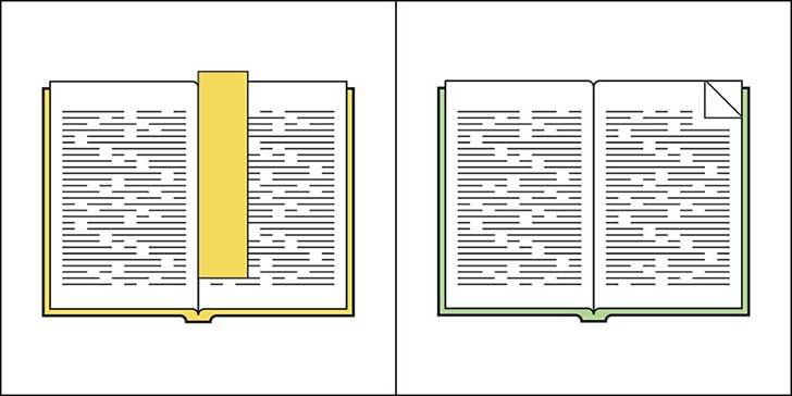 Separador de libros.