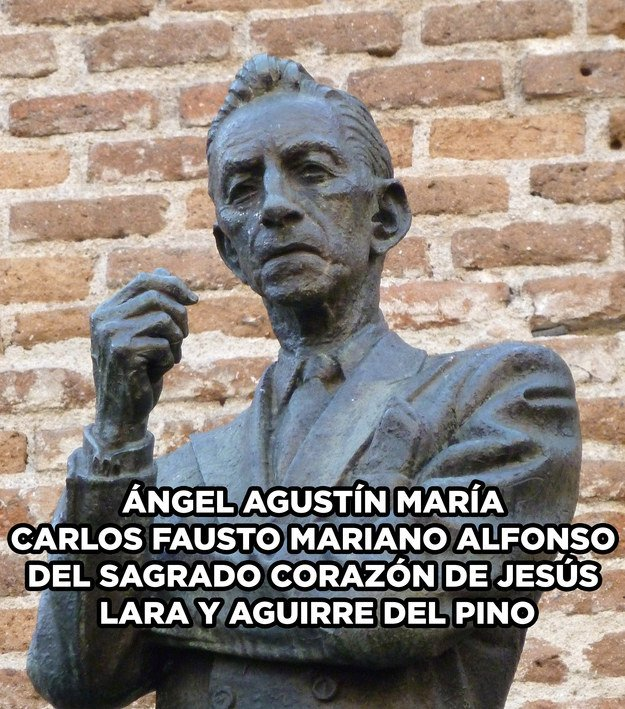 Agustín Lara.