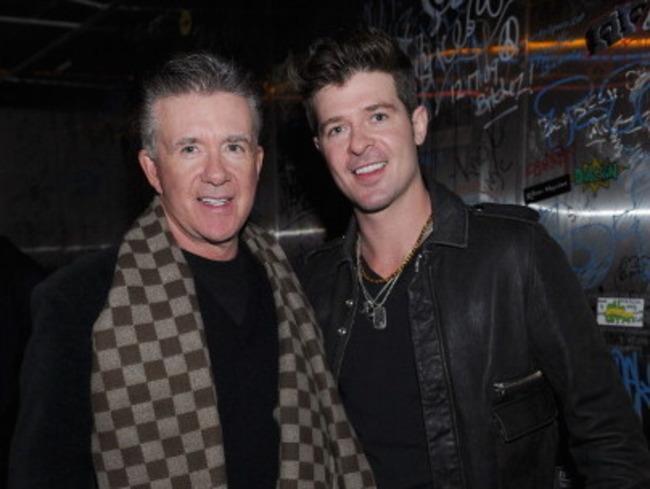 Alan Thicke y su hijo Robin