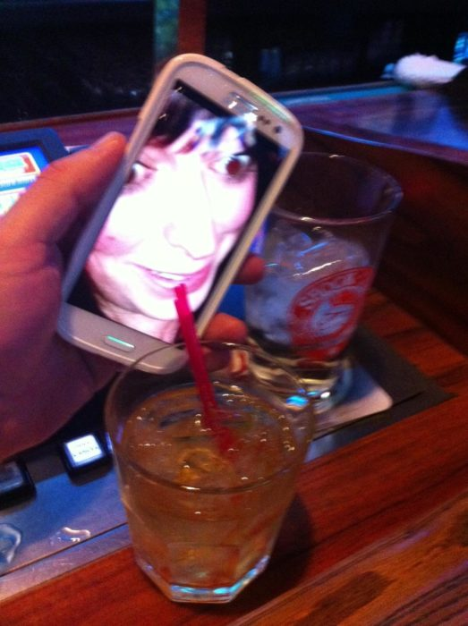 Bebida virtual.