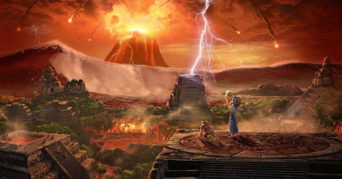 los mayas abandonaron sus ciudades por un apocalipsis