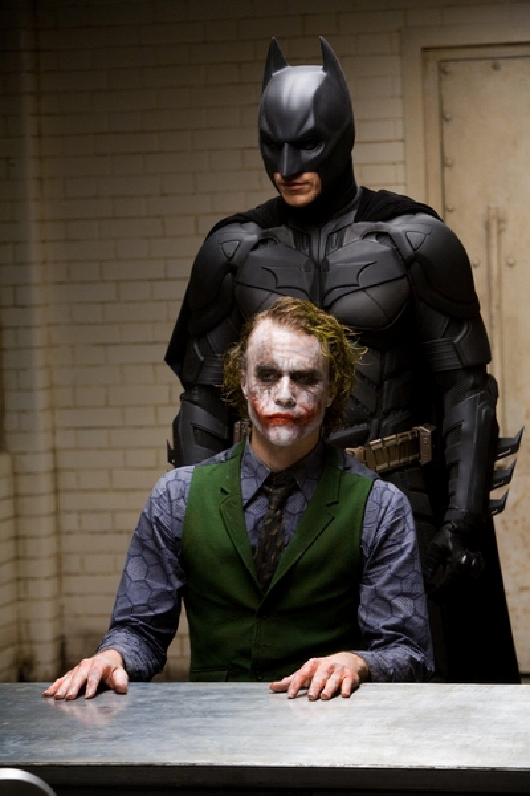 Christian Bale y Heath Ledger