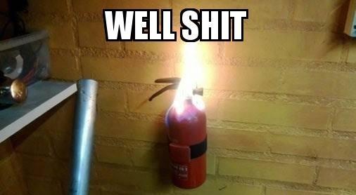Extintor.