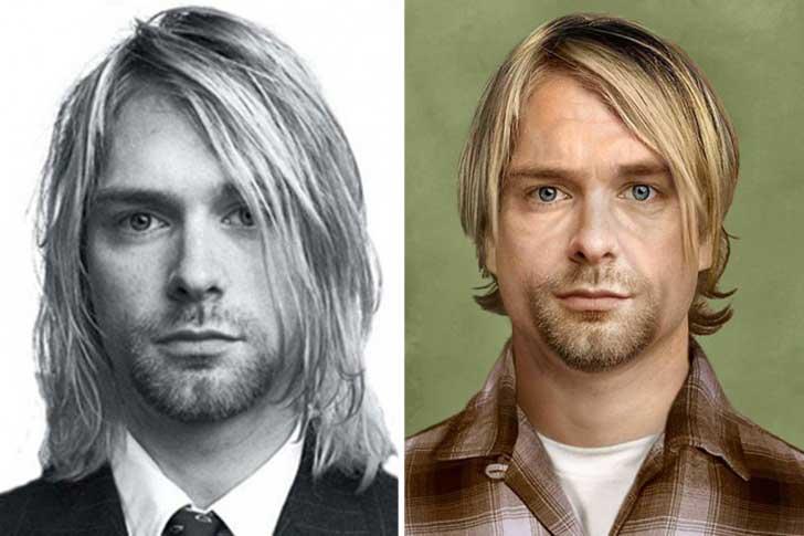 Kurt Cobain, actualmente tendría 47 años.