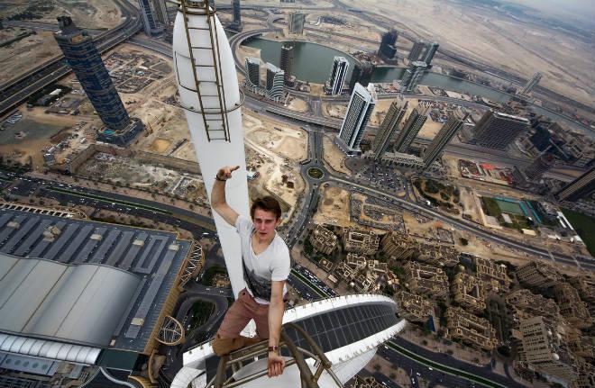 Las 16 selfies más extremas del mundo