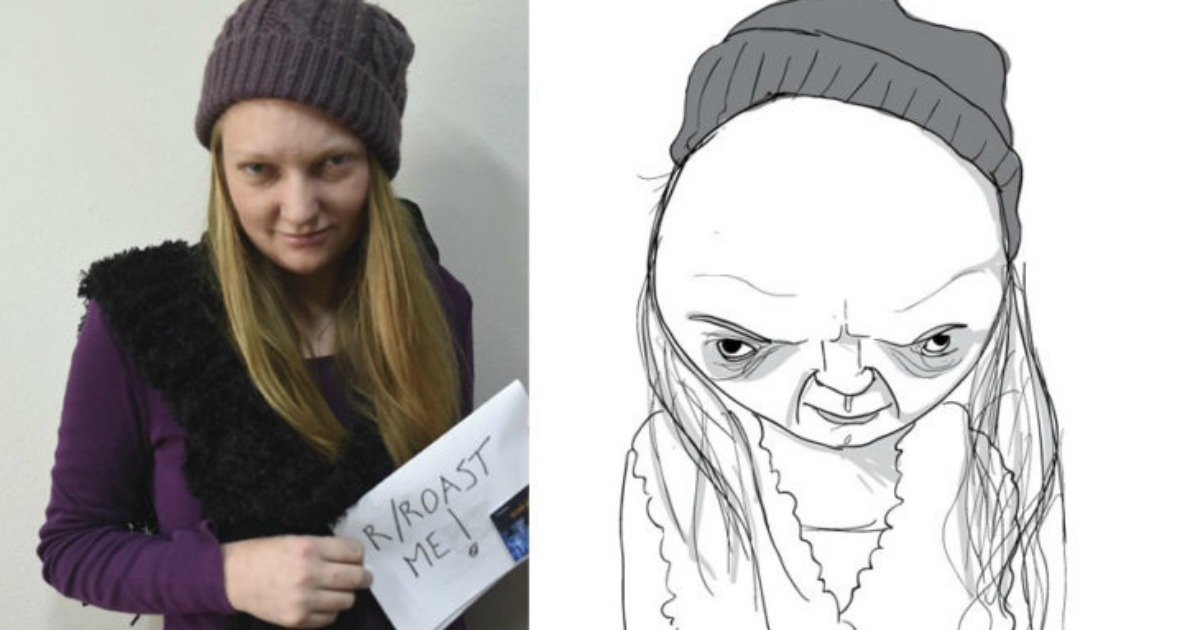 Mira el trabajo de este caricaturista que exagera los defectos de sus modelos. 15 fotografías  ¿Te atreves a que te dibuje?