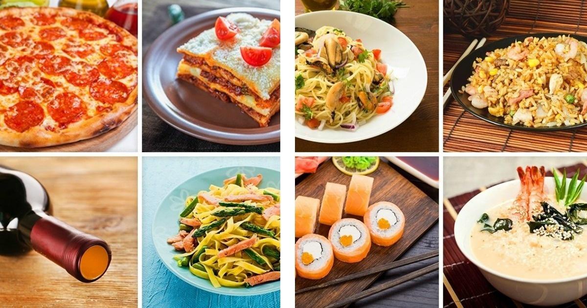 Lo que puedes comer con 30 euros en distintos países del mundo