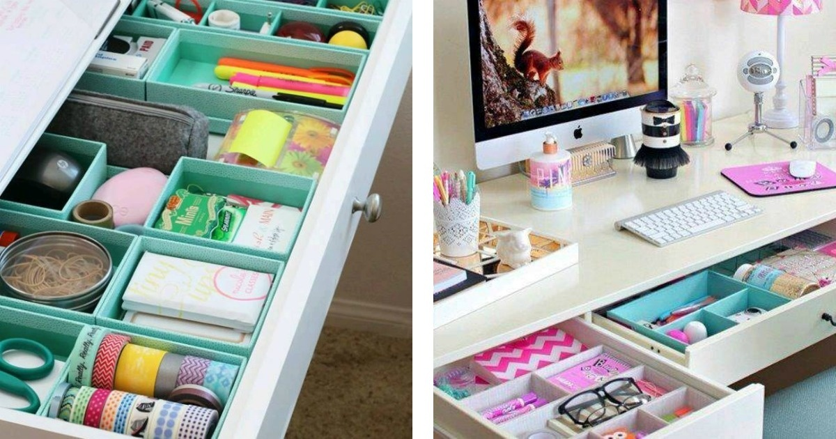 10 Ideas para organizar tu escritorio que te van sacar de apuros