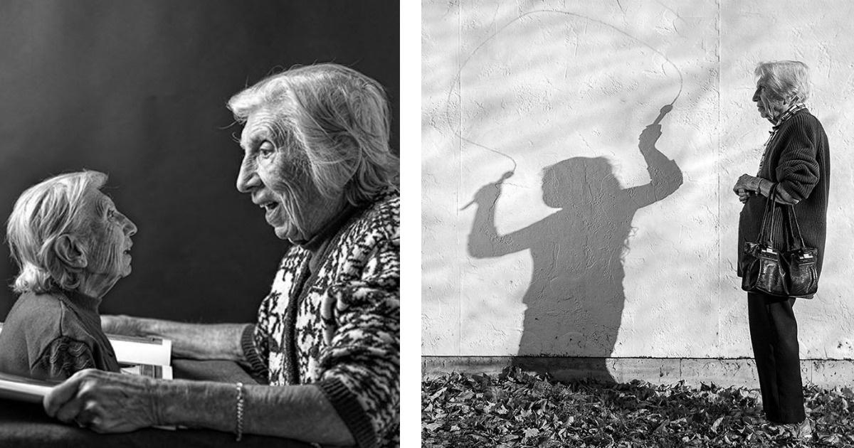 Una mujer de 91 años celebra su vida con esta genial serie fotográfica
