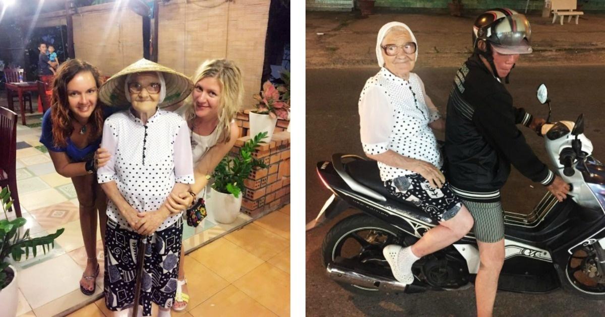 Viajera de 90 años te da clases de cómo disfrutar la vida