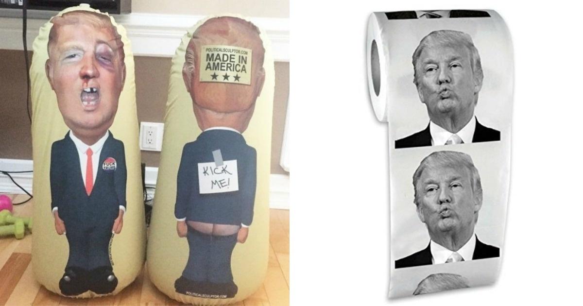 14 objetos que demuestran que burlarse de Donald Trump no es tan caro
