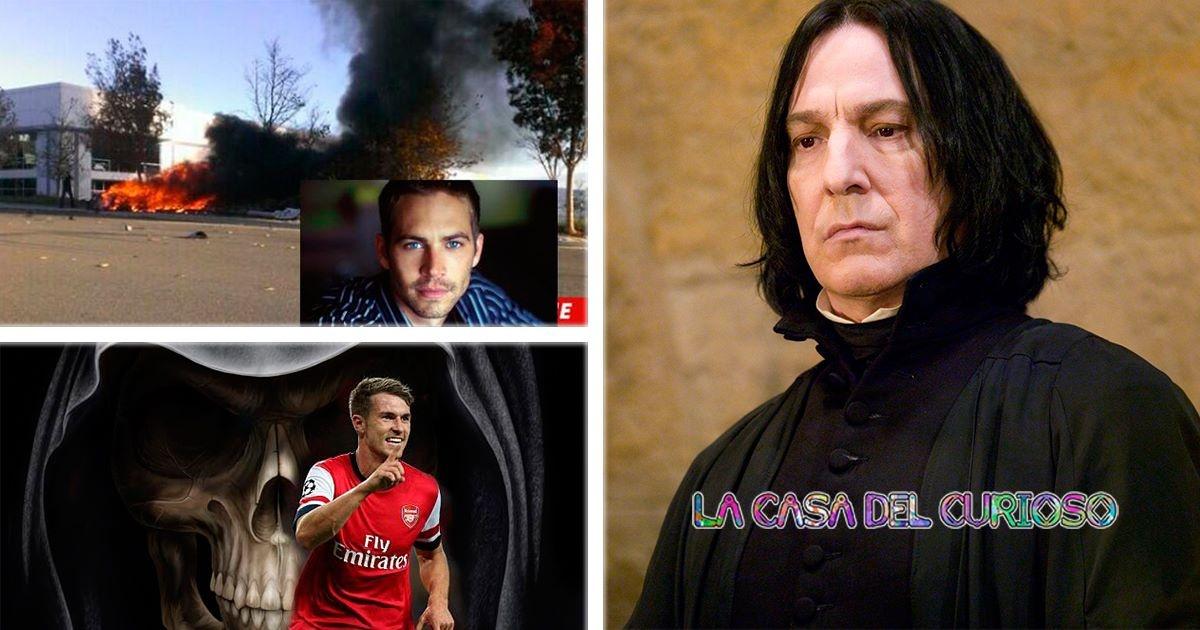 La maldición de un futbolista que mata famosos al anotar gol, ¡Conoce quienes son sus víctimas!
