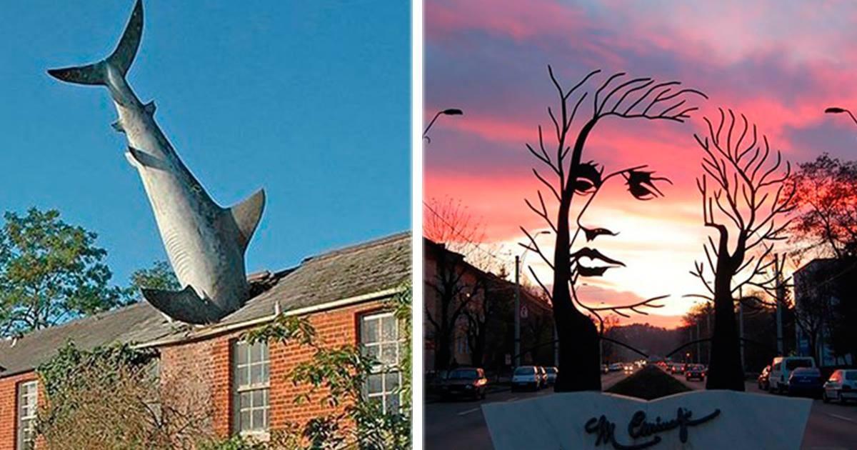 18 Espectaculares esculturas que no sabías que existían ¡La #17 está genial!
