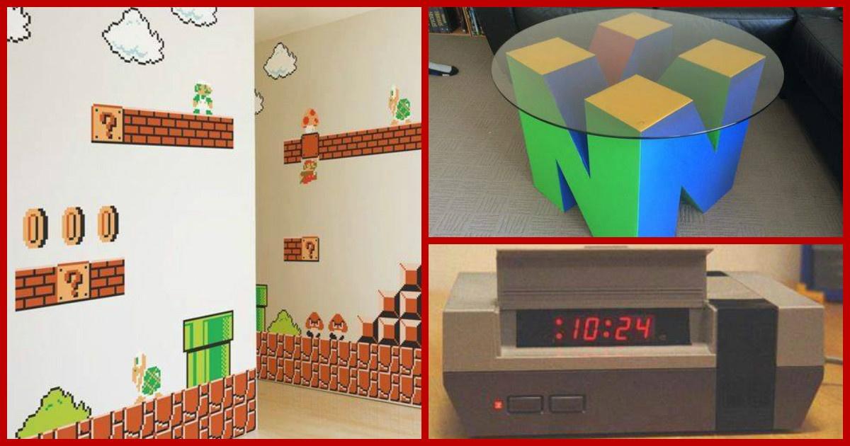 20 decoraciones de interiores que todo gamer quisiera for Decoracion gamer