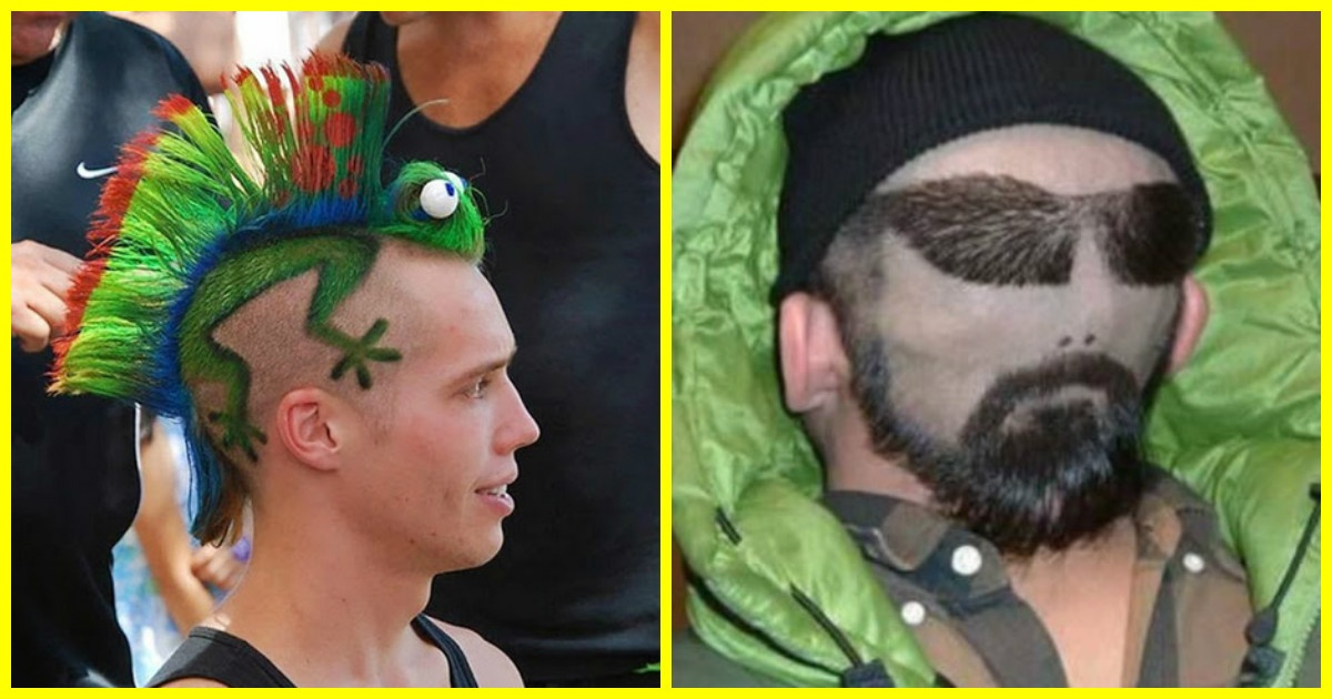 Fotos graciosas de corte de cabello