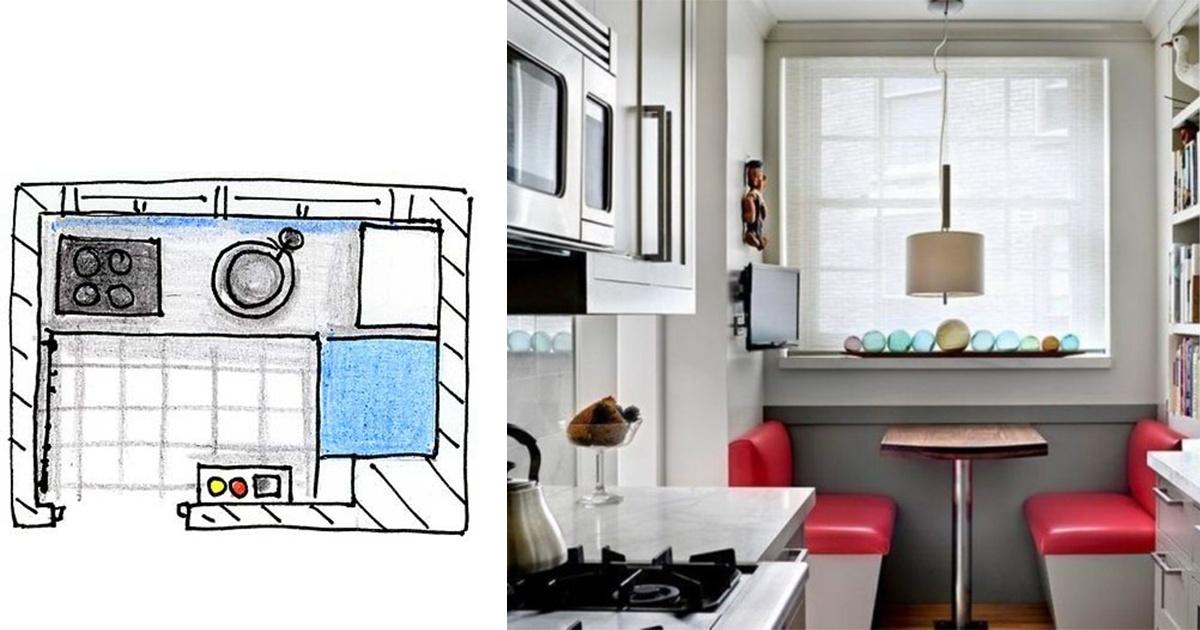 9 ingeniosas ideas para aprovechar el espacio en cocinas for Aprovechar espacio cocina pequena