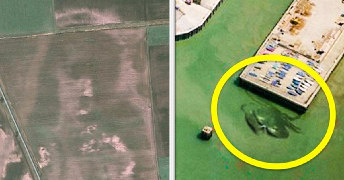 ¡18 imágenes satelitales MÁS EXTRAÑAS encontradas en Google Maps!