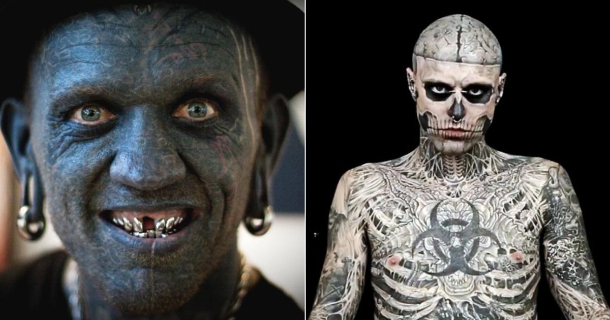 Conoce a las personas que se han hecho los tatuajes más extremos del mundo