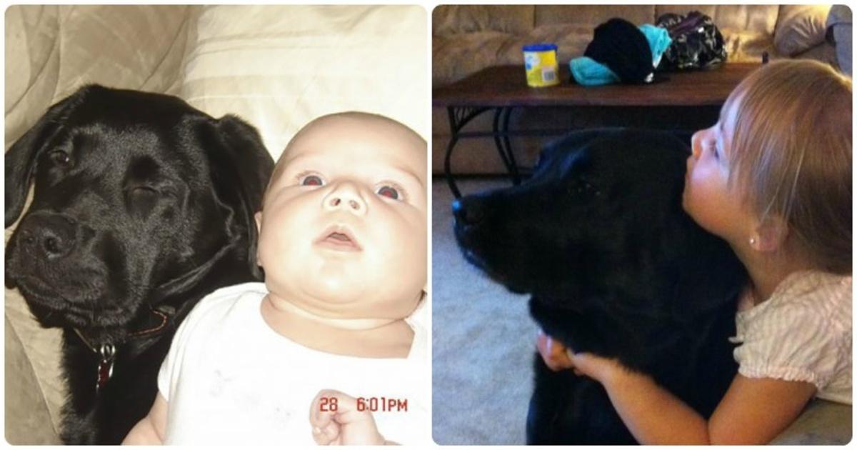 La hermana de esta mujer le recomendó no tener un cachorro al tener a su bebé, pero la ignoró y esto es lo que pasó.