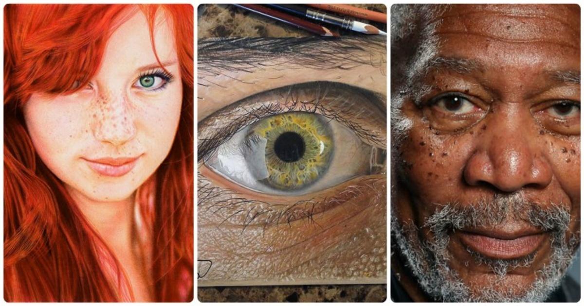 15 increíbles piezas de arte hiperrealista que no podrás creer que no son fotografías. ¡Wow!