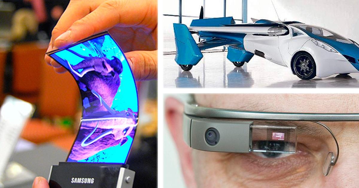7 inventos tecnológicos que revolucionarán el mundo, ¿Cuál crees que sea mas útil?