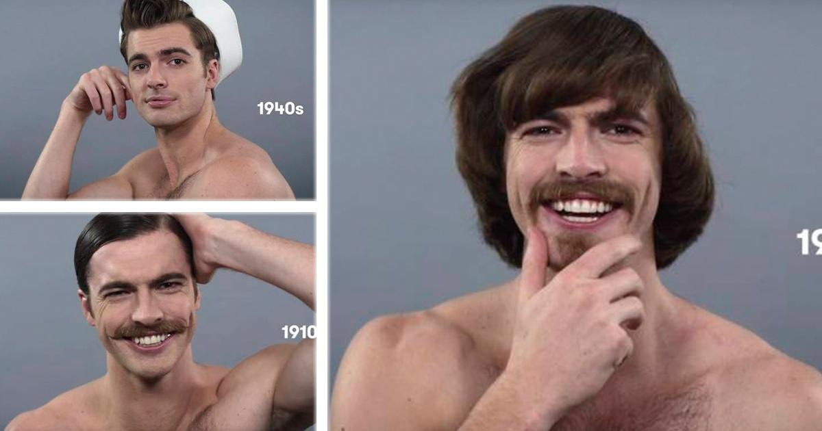 11 fotografías que muestran como cambio el look en los hombres, ¡Seguramente usaste el #10!